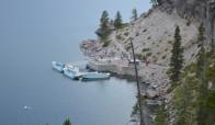 Ertesi gün gölde yapacağımız tekne turuna kuşbakışı bir bakış!