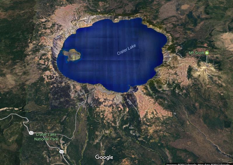 crater lake photo 3