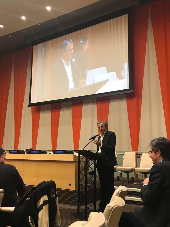 Bernard Levi at UN (2)